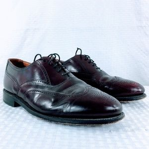 Bostonian Classics Lace Up Cordovan Wingtips